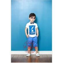 Baju Anak Ebutty Blue feather Harga Rp 127.000