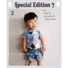 Baju Anak GW SE 7i polo grey Harga Rp 161.000