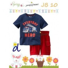 Baju Anak Jumping Beans 10D Everyday navy blue Harga Rp 110.000