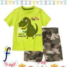 Baju Anak Jumping Beans 10F Dino green Harga Rp 110.000