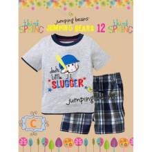 Baju Anak Jumping Beans 12C grey baseball Harga Rp 92.000