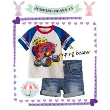 Baju Anak Jumping Beans 14F Speed Truck Harga Rp 127.000