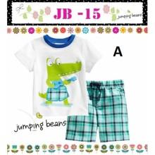 Baju Anak Jumping Beans 15A crocodile white Harga Rp 92.000