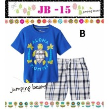 Baju Anak Jumping Beans 15B blue turtle Harga Rp 92.000