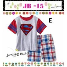 Baju Anak Jumping Beans 15E superman Harga Rp 92.000