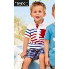 Baju Anak Next white stripe Harga Rp 127.000