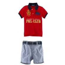 Baju Anak Polo PRL Club red Harga Rp 156.000
