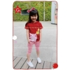 GW 68G balloon red hoodie