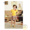GW 79J yellow polka dress