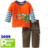 pipo 5608 crocodile orange