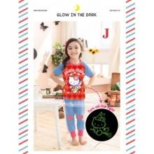 Piyama Gw 119J Hello Kitty Red Harga Rp 104.000