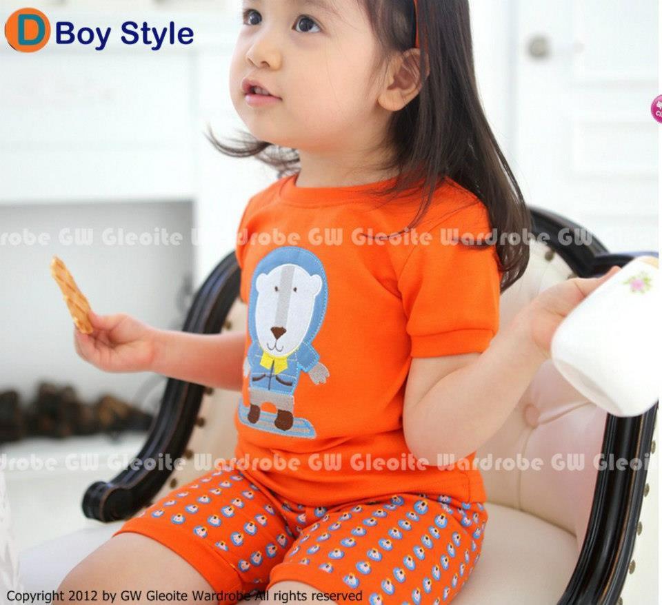 GW Baju Tidur Pajamas Anak GAP Setelan GW Fashion » Piyama GW 46 D