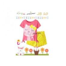 Piyama Jumping Beans 10I Kitty Pink Harga Rp 110.000