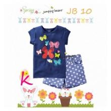 Piyama Jumping Beans 10K Butterfly Blue Harga Rp 110.000