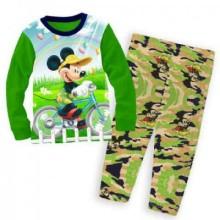 Piyama Mickey Army Hijau Harga Rp 104.000