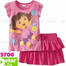 Piyama Pipo 5706 Dora Pink Harga Rp 87.000
