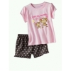 Gap Set Monkey pink